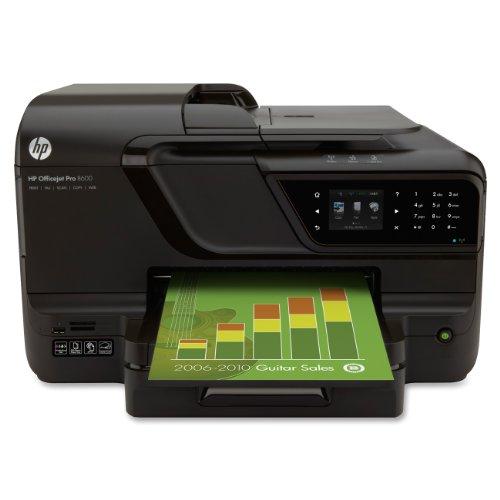 Hp officejet pro 8600 e all in one wireless color printer for Best home office hp inkjet printer