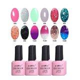 AIMEILI Soak Off UV LED Gel Nail Polish Multicolor / Mix Color / Combo Color Set Of 12pcs X 10ml - Kit Set 3 - Best Reviews Guide