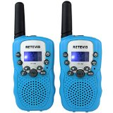 Retevis RT-388 Kids Walkie Talkies UHF 462.5625-467.7250MHz VOX 22CH Portable FRS/GMRS Two Way Radio with Flashlight (Blue, 2 Pack) - Best Reviews Guide