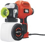 Best Paint Sprayers - Black & Decker BDPS400K Single Speed Quick Clean Review
