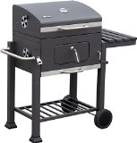 El Fuego® Holzkohlegrill Ontario, Grau, 115x107x67 cm - Best Reviews Guide