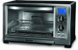 Best Toaster Ovens - BLACK+DECKER TO1021BC Infrared Oven with Rotisserie, Silver Review