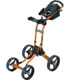 Best Golf Push Carts - Bagboy Quad Plus 4-Wheel Push Cart-Orange LE Review