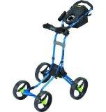 Best Golf Push Carts - Bagboy Quad Plus 4-Wheel Push Cart-Arctic Blue LE Review