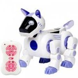 Remote Control Infrared Intelligent Smart Dog Robot Toy for Kids Blue - Best Reviews Guide