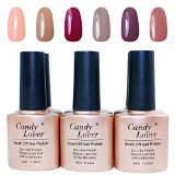 UV/LED Nail Lacquer 6pc Gel Polish Master Set - Oasis Collection #14 - Best Reviews Guide