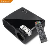 HD 3200 lumens Home Theater Projector LED Cinema Support HDMI VGA AV USB for Home Cinema Theater Child Games - Best Reviews Guide