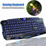 Game Keyboard, Sokaton® M-200 Mechanical Feel Gaming Keyboard - Best Reviews Guide