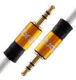 IBRA® 3.5mm Stereo Jack to Jack Audio Cable Lead Gold 1 m - Best Reviews Guide