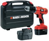 Black + Decker EPC148BK 14.4V NiCd Cordless Hammer Drill (2 Batteries and Kitbox) - Best Reviews Guide