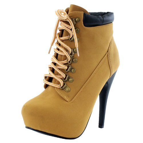 Womens Work Boots With High Heels 102