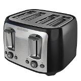 BLACK+DECKER TR1478BD 4-Slice Toaster, Black - Best Reviews Guide
