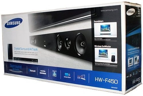Samsung HW-F450 / HW-FM45C/ZA 2.1 Channel 280-Watt Soundbar